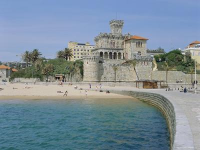 The Beach, Estoril,Costa De Lisboa, Portugal, Europe-G Richardson-Photographic Print