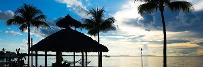 The Beach Hut at Sunset - Florida - USA-Philippe Hugonnard-Photographic Print