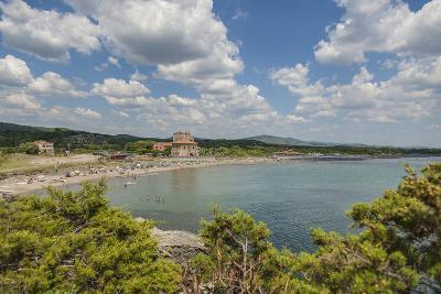 The Beach near 'Tagliata Etrusca', Ansedonia-Guido Cozzi-Photographic Print