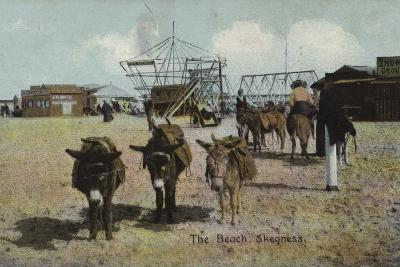 The Beach, Skegness, Lincolnshire--Photographic Print
