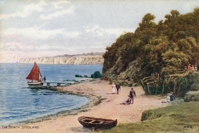The Beach, Studland-Alfred Robert Quinton-Giclee Print