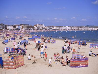 The Beach, Weymouth, Dorset, England, United Kingdom-J Lightfoot-Photographic Print