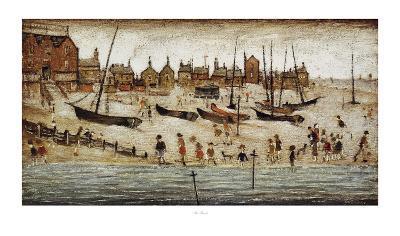 The Beach-Laurence Stephen Lowry-Art Print