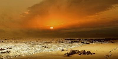 The Beach-Adelino Gon?alves-Photographic Print