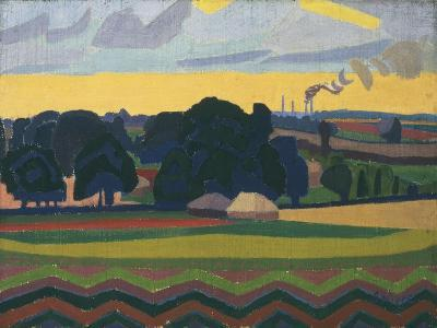 The Beanfield, Letchworth-Spencer Gore-Giclee Print