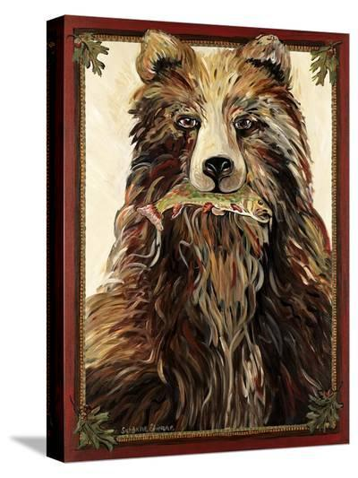 The Bear-Suzanne Etienne-Stretched Canvas Print