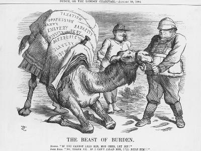 The Beast of Burden, 1884-Joseph Swain-Giclee Print