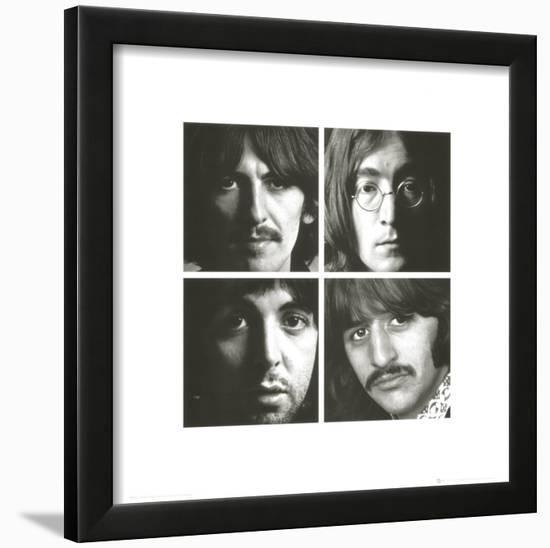 The Beatles White Album Framed Art Print by   Art.com