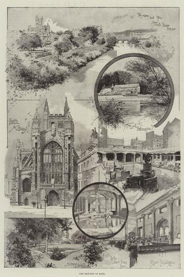 The Beauties of Bath-Joseph Holland Tringham-Giclee Print
