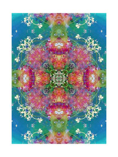 The Beauty Of All Colors - Big Mandala Ornament-Alaya Gadeh-Art Print