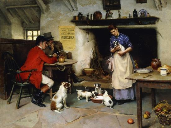 The Beauty of the Family, 1895-Leghe Suthers-Giclee Print