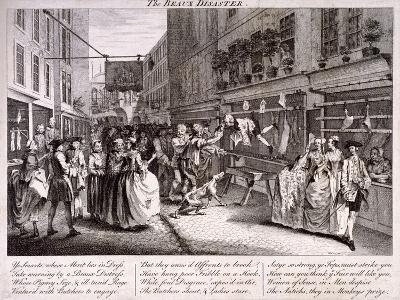 The Beaux Disaster, 1747-John June-Giclee Print