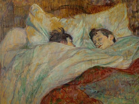 The Bed Le Lit 1892 Giclee Print Henri De Toulouse Lautrec Art Com