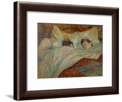 The Bed (Le Lit), 1892-Henri de Toulouse-Lautrec-Framed Giclee Print
