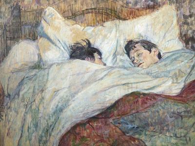 The Bed-Henri de Toulouse-Lautrec-Art Print