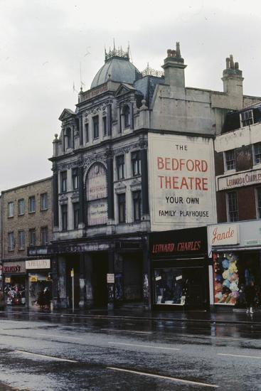 The Bedford Music Hall, Camden Town, 1968--Photographic Print