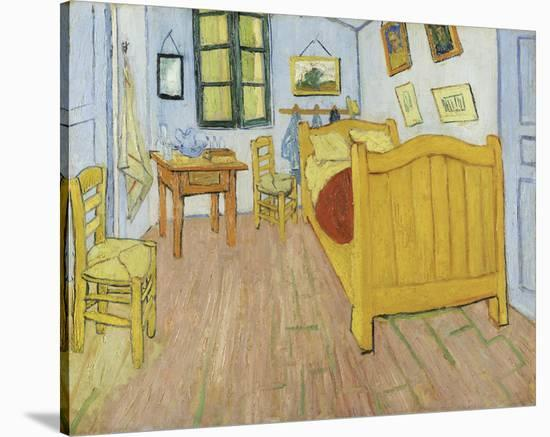 The Bedroom 1888 Stretched Canvas Print By Vincent Van Gogh Art