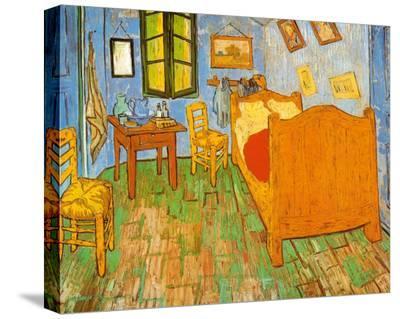 The Bedroom at Arles, c.1887-Vincent van Gogh-Stretched Canvas Print