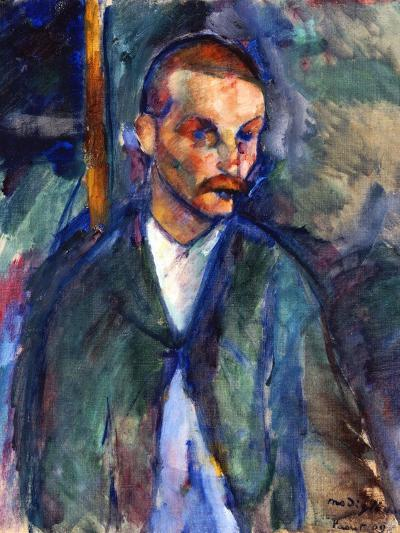 The Beggar of Livorno, August 1909-Amedeo Modigliani-Premium Giclee Print