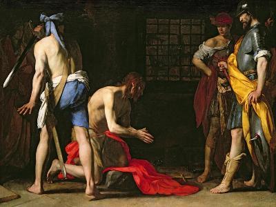 The Beheading of John the Baptist, 1634-Massimo Stanzione-Giclee Print