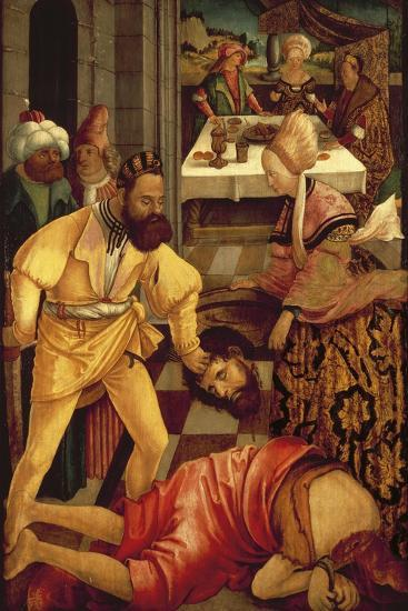 The Beheading of Saint John the Baptist-Erhard Altdorfer-Giclee Print