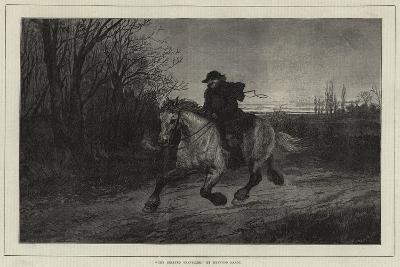 The Belated Traveller-Heywood Hardy-Giclee Print
