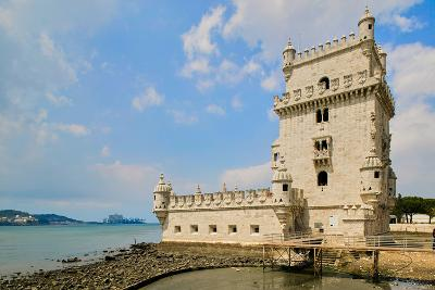 The Belem Tower, a UNESCO World Heritage Site, in Lisbon/Lisboa Portugal--Photographic Print