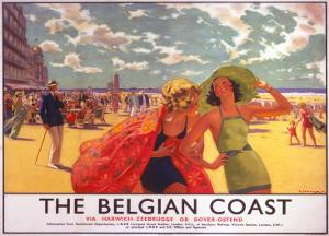The Belgian Coast, SR/LNER, c.1930s