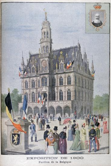 The Belgium Pavilion at the Universal Exhibition of 1900, Paris, 1900--Giclee Print