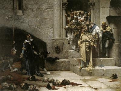 The Bell of Huesca, 1880-Jose Casado Del Alisal-Giclee Print