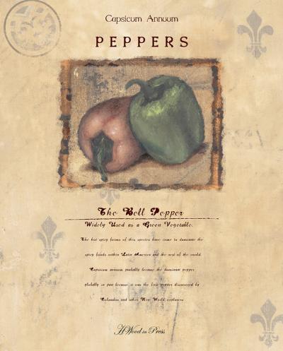 The Bell Pepper-Wood-Art Print