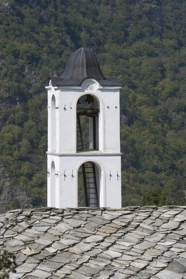 The Bell Tower of the Church in the Kovacevica Village, Rhodope Mountains, Bulgaria--Photographic Print
