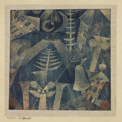 The Bell!-Paul Klee-Giclee Print