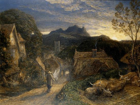 The Bellman-Samuel Palmer-Giclee Print