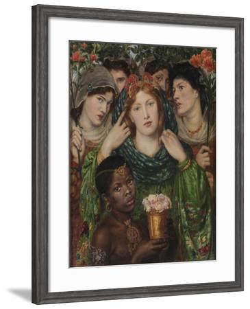 The Beloved (The Bride)-Dante Gabriel Rossetti-Framed Giclee Print