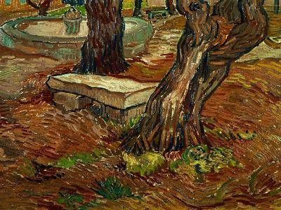 The Bench of Saint-Remy, c.1889-Vincent van Gogh-Giclee Print