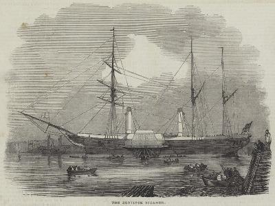 The Bentinck Steamer--Giclee Print
