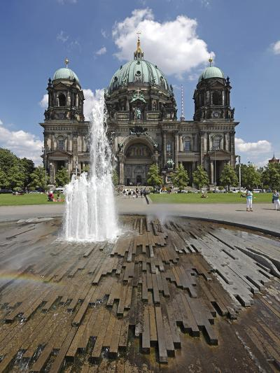 The Berlin Cathedral (Berliner Dom) in the Centre of Berlin on a Summer's Day-David Bank-Photographic Print