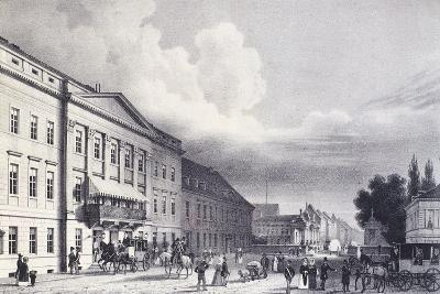 The Berlin Theatre, Germany 19th Century--Giclee Print