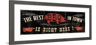 The Best BBQ in Town-Pela Design-Framed Premium Giclee Print