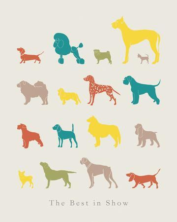 The Best in Show-Clara Wells-Giclee Print