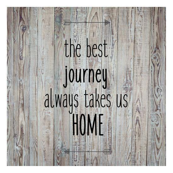 The Best Journey Always-Kimberly Allen-Art Print