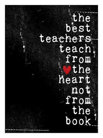 The best teachers-Cheryl Overton-Giclee Print