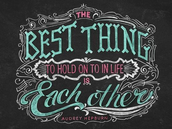 The Best Thing in Life-CJ Hughes-Giclee Print