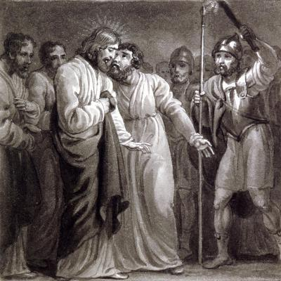 The Betrayal of Christ, C1810-C1844-Henry Corbould-Giclee Print