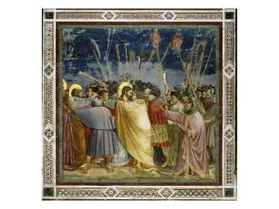 The Betrayal of Christ-Giotto di Bondone-Giclee Print