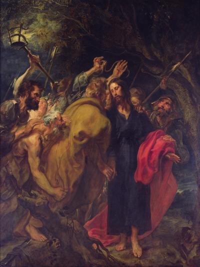 The Betrayal of Christ-Sir Anthony Van Dyck-Giclee Print