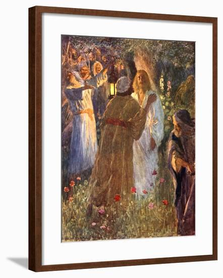 The Betrayal-William Henry Margetson-Framed Giclee Print
