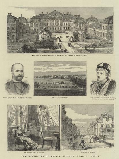The Betrothal of Prince Leopold, Duke of Albany--Giclee Print