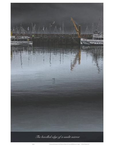 The Bevelled Edge of a Sunlit Mirror-Graham Rhodes-Art Print